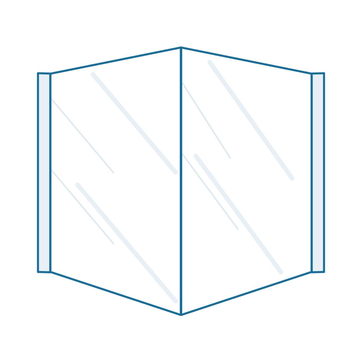 Real Estate 3D Sign V - 1200 x 800 mm
