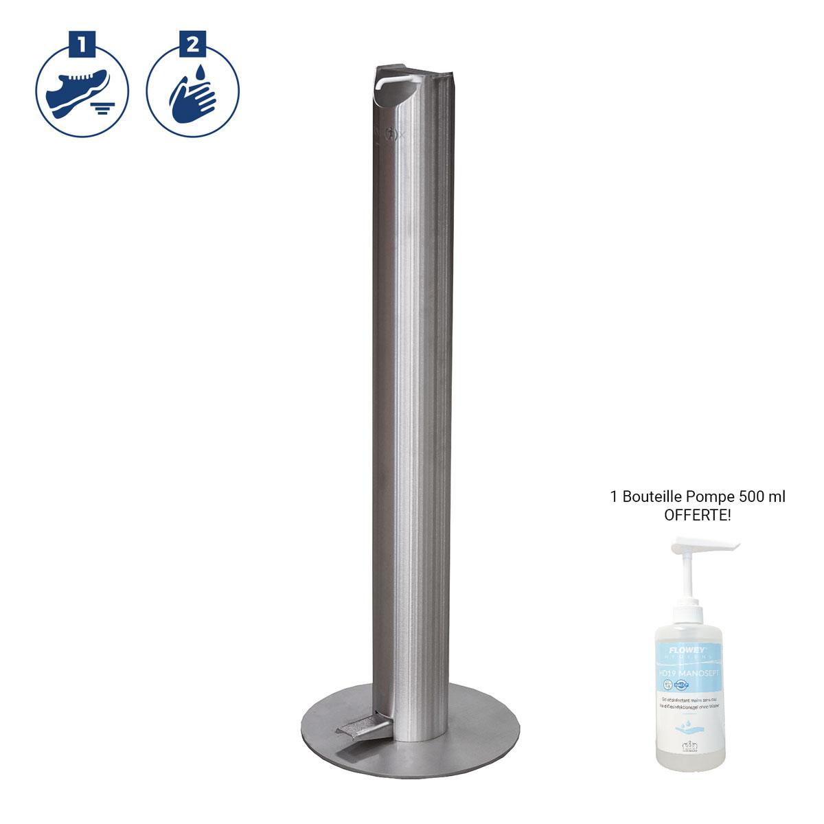 Distributeur de gel hydroalcoolique - ILONA Inox